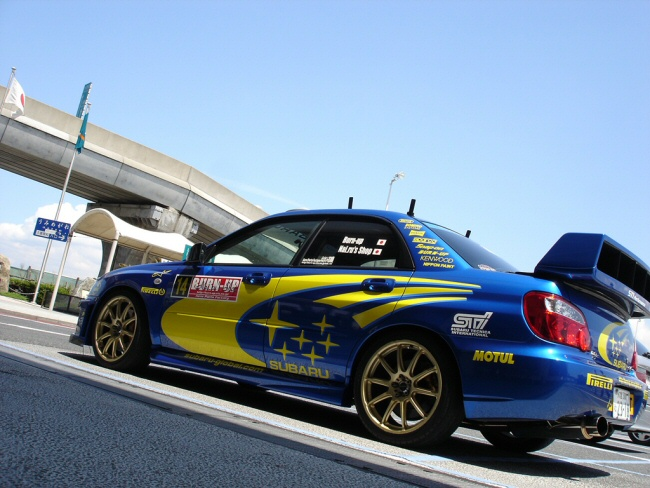 GD-WRC'03−06スプリッターウイング
