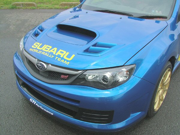 WRC'08コンセプトボンネット