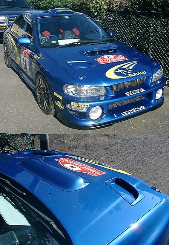 WRC'00タイプエアロボンネット