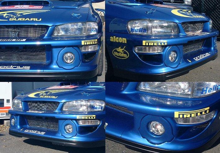 WRCフォグランプキット