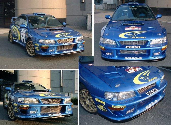 22B専用WRC'00バンパー