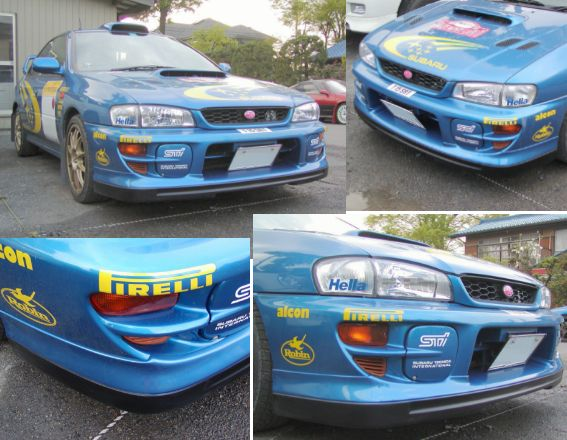 GC系WRC'00タイプ ハーフスポイラー