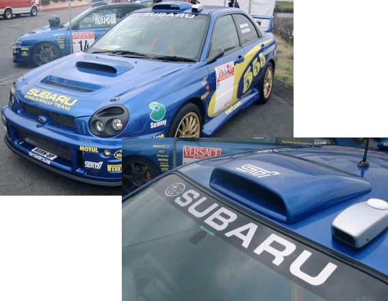 GD-WRCルーフベンチバルジ