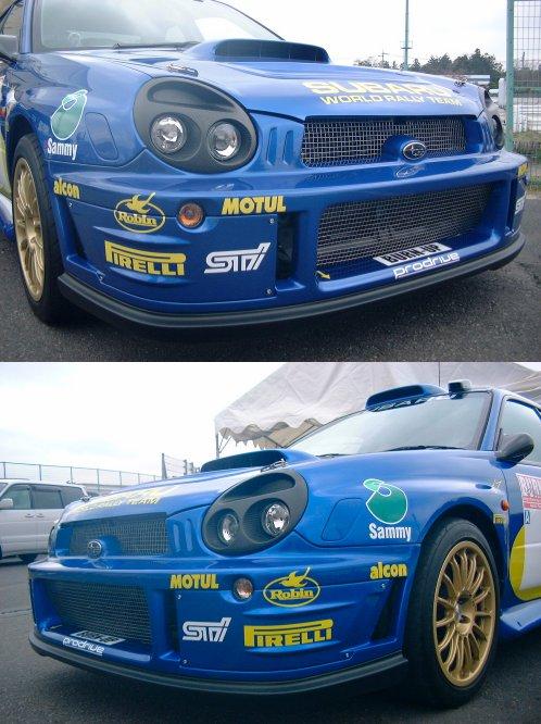 GD-WRC'01−02バンパー(Hella製ウインカー付)