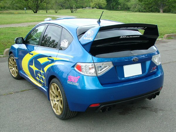 WRC'08コンセプトウイング