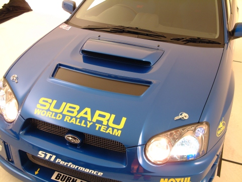 GD−WRC'03−05ボンネット