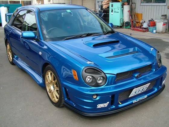 GG-WRC'01−02バンパー(Hella製ウインカー付)