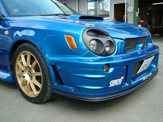 WRC ドライカーボンヘッドライトキット