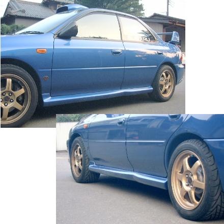 WRCサイドステップ4Dr(ワゴン含)用